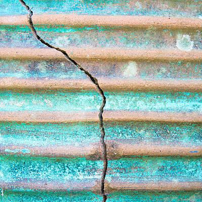 Ballot Wall Art - Photograph - Cracked Clay Pot by Tom Gowanlock