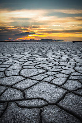 Photograph - Cracked Earth by Dallas Golden