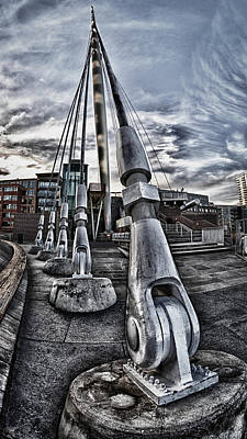 Photograph - Cracked Moorings by Kevin Munro