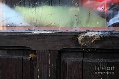 Photograph - Cracked Window by Dariusz Gudowicz