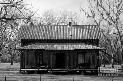 Old House Photograph - Cracker Cabin by David Lee Thompson
