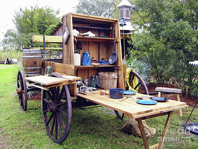 Photograph - Cracker Chuck Wagon by D Hackett