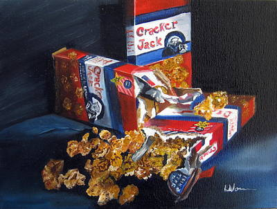 Painting - Cracker Jacks by LaVonne Hand