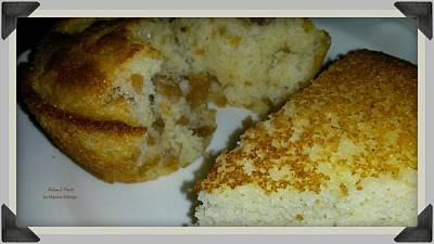 Cornbread Photograph - Crackling Or Plain? by Maxine Billings