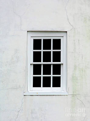 Photograph - Cracks Around The Lighthouse Window by D Hackett