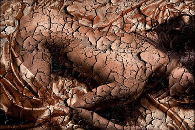 Cracks Art Print by Naman Imagery