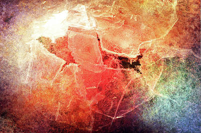 Photograph - Cracks Of Colors by Randi Grace Nilsberg