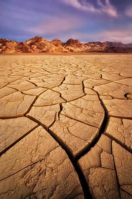 Photograph - Cracks On Cracks by Nicki Frates