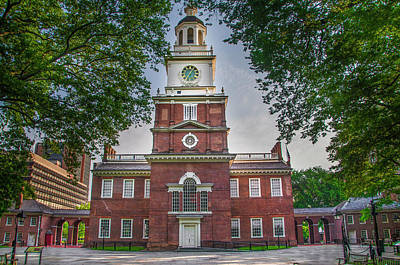 Photograph - Cradle Of America - Independence Hall - Philadelphia by Bill Cannon