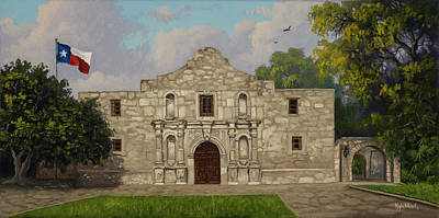 Painting - Cradle Of Texas Liberty by Kyle Wood