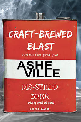 Digital Art - Craft Brewed Blast Beer by John Haldane
