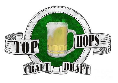 Hop Drawing - Craft Draft by Priscilla Wolfe