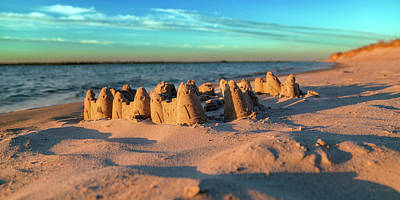 Sandcastles Photograph - Crafted With Care By Tiny Hands by Betsy Knapp