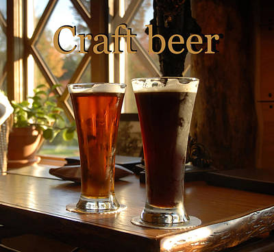 Photograph - Crafting Beer by David Lee Thompson
