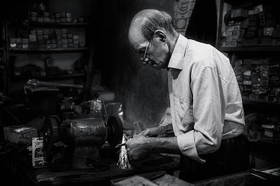 Photograph - Craftmanship by Michel Verhoef