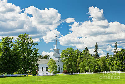 Photograph - Craftsbury Common June by Alan L Graham