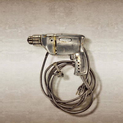 Photograph - Craftsman Drill Motor Left Side by YoPedro