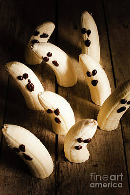 Tasty Photograph - Crafty Ghost Bananas by Jorgo Photography - Wall Art Gallery