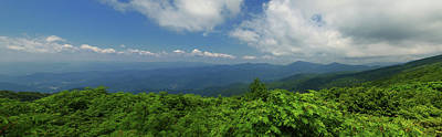 Photograph - Craggy Gardens Panorama by Jill Lang