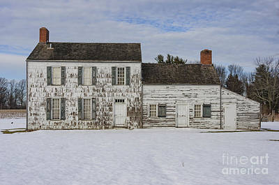 Photograph - Craig House In Winter by Debra Fedchin