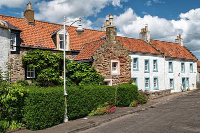 Photograph - Crail Old Town In Fife by Jeremy Lavender Photography