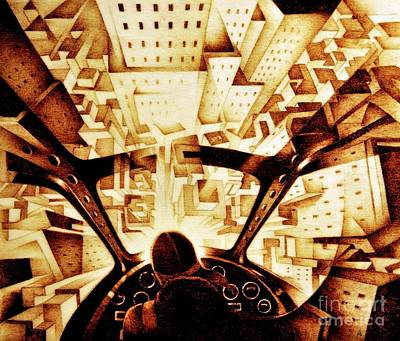 Woodburning Pyrography - Crali by Ilaria Andreucci