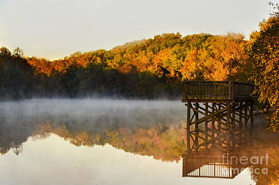 Gaston County Photograph - Cramerton Sunrise by Riley Lewis