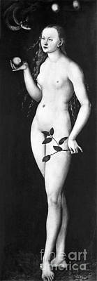 Photograph - Cranach: Eve by Granger