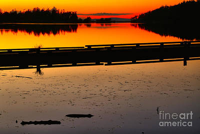 Photograph - Cranberry Lake Last Light by Adam Jewell