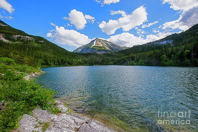 Photograph - Crandell Lake by David Arment