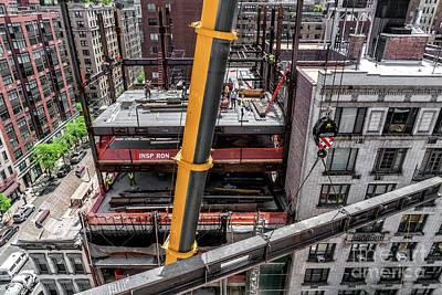 Photograph - Crane by Rafael Quirindongo