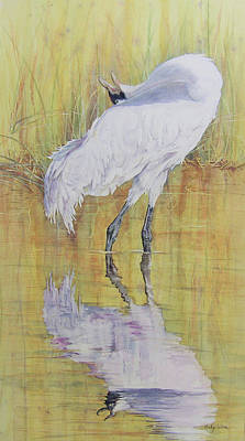 Painting - Crane Song by Vicky Lilla