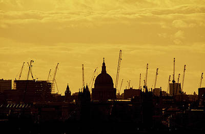 Photograph - Cranes Over London by Wayne Molyneux