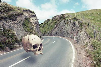 Photograph - Cranium Impedimentum by Joseph Westrupp