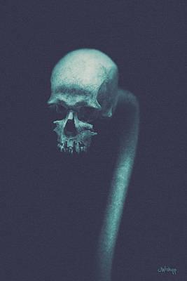 Photograph - Cranium Ophidian by Joseph Westrupp