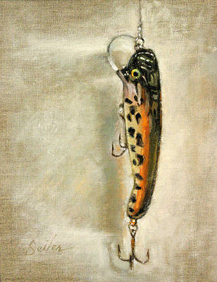 Cranky Nitro- Muskie Lure Original by Larry Seiler