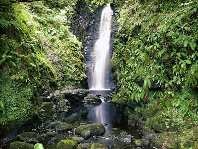 Photograph - Cranny Falls, Carnlough by Colin Clarke