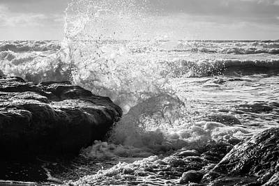 Photograph - Crash Of The Wave by Randy Bayne