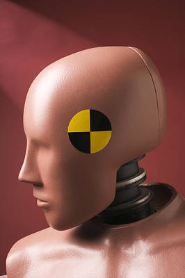 Humanlike Photograph - Crash Test Dummy by Garry Gay