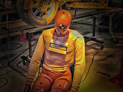Photograph - Crash Test Dummy by Mike Martin