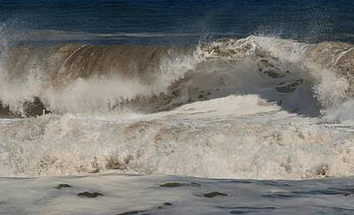 Shower Head Photograph - Crashing - Jersey Shore by Angie Tirado