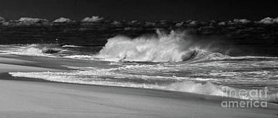 Photograph - Crashing Onto Shore II by Mary Haber