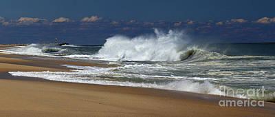 Photograph - Crashing Onto Shore by Mary Haber