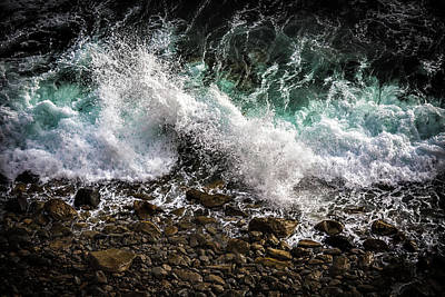 Photograph - Crashing Surf by Jason Roberts