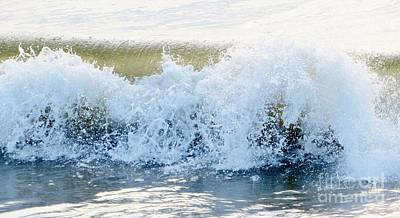 Photograph - Crashing Surf by Tim Townsend
