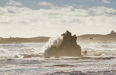 Beach Royalty-Free and Rights-Managed Images - Crashing tide by Jorgo Photography - Wall Art Gallery