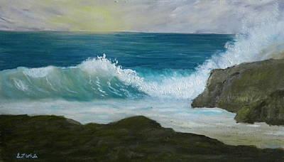 Crashing Wave 3 Art Print