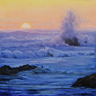 Painting - Crashing Wave by Michael Orwick