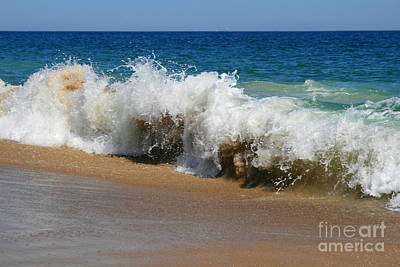 Photograph - Crashing Wave No. 2 by Neal Eslinger