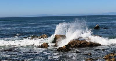 Photograph - Crashing Waves 2 by Christy Pooschke